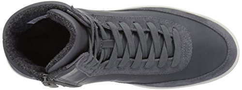 Lacoste Women's Explorateur Calf 316 2 Caw Dk Gry Fashion Sneaker, Dark Grey, 7 M US