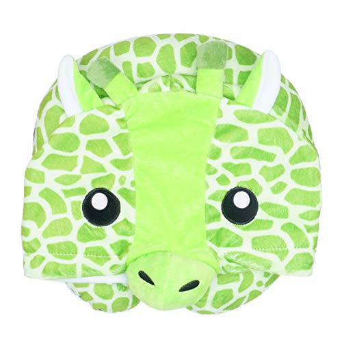 LOVOUS Cute Cartoon Animal Hooded Travel Neck Support Pillow