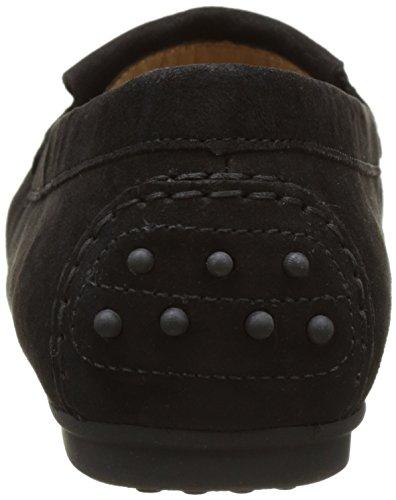 Gabor Shoes Fashion, Mocasines para Mujer Negro (schwarz 17)