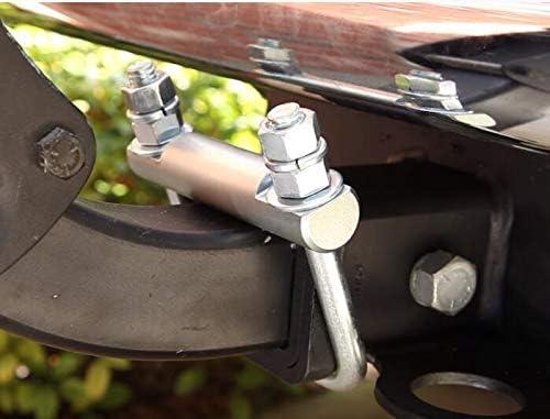 """tiewards Hitch Tightener for 2.5/"""" Heavy Duty Cross Hitch Tightener Clamp Anti Rattle Hitch Coupling Clamp"""