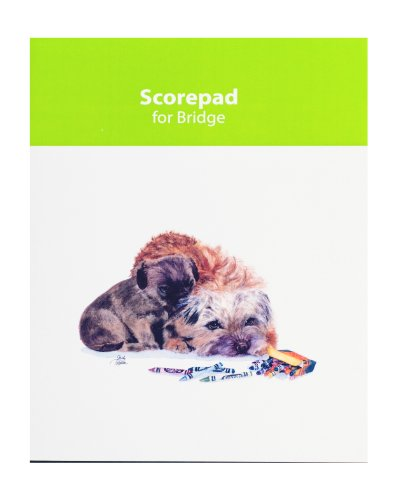 Rainbow Bridge Border (Rainbow Card Company Bridge Score Pad - Muffin and Crumb Cake)