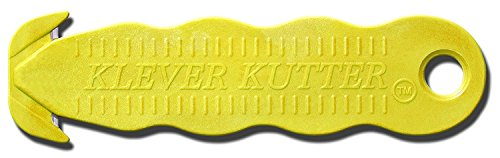 Klever Kutter Cutters, Yellow, Pack of 10
