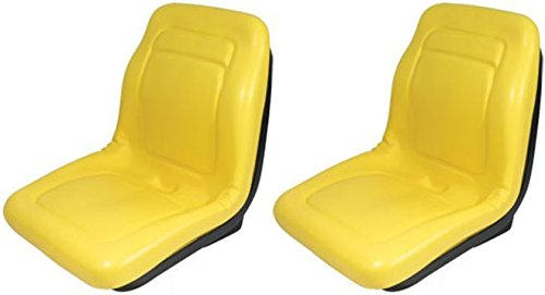 Two (2) New Yellow Seat 18'' Made To Fit John Deere Gator 4X4 4X2 4X6 ,product_by: reliableaftermarketpartsinc; TRYK174230739978615 by Welironly