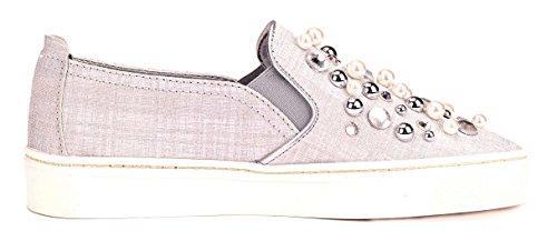 Pearls Scarpa The Donna Slip Flexx On Grigio Sneak qz1nFEZO