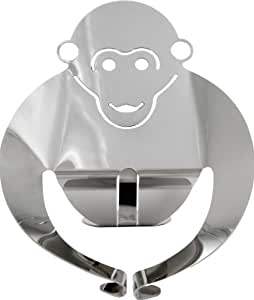 Alessi Gorì - Figura de acero inoxidable 18/10, diseño mono, efecto espejo