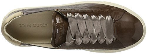 Taupe Sneaker 70714053501400 O'Polo Marron Marc Femme Baskets Dark f4w5TqO0
