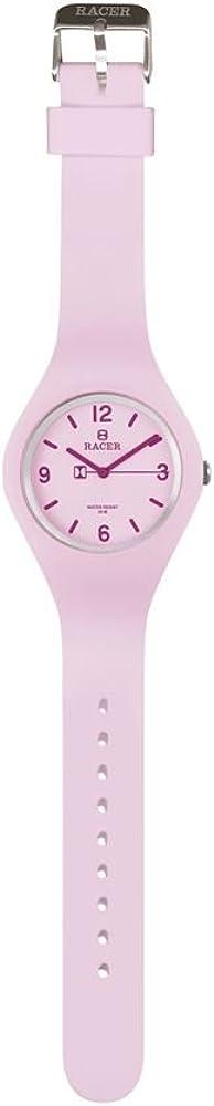Racer Reloj Analógico para Unisex Adultos de Cuarzo con Correa en Cuero E400