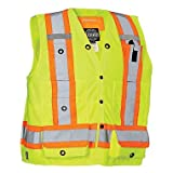 Forcefield Canada Surveyor's Vest - LIME - X-LARGE