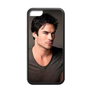 iPhone 5c Case, [Ian Joseph Somerhalder] iPhone 5c Case Custom Durable Case Cover for iPhone5c TPU case (Laser Technology)