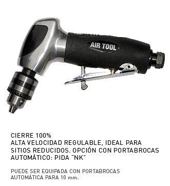 MC-2320 Mini Taladro Neumático de 15.000 r.p.m, ideal para aeronáutica y trabajos en