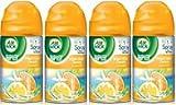 Air Wick Freshmatic Ultra Refills, Bright Citrus Splash, Air Freshener, 6.17 Ounces (Case of 4)