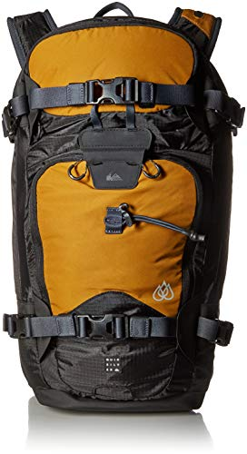 (Quiksilver Men's TR PLATINUM BACKPACK, golden brown, 1SZ)