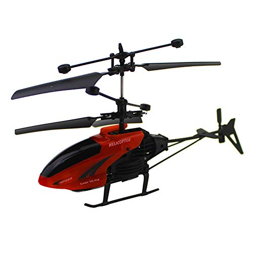 ller76 RC Helicopter – Built-in Gyro Infrared Remote Control Helicopter Large Model 2.5 Channels with Gyro for Indoor/Outdoor Ready to Fly – Kids Boys Gift(Red)