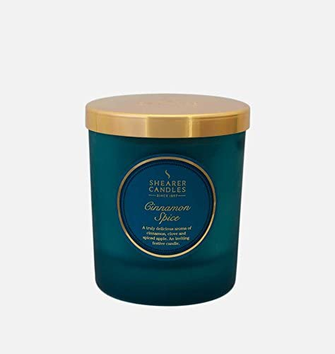 YES Ja Shearer Candles Ultimate Home Duft Collection-Cinnamon Spice 26/x 28/x 11/cm Wachs Blaugr/ün
