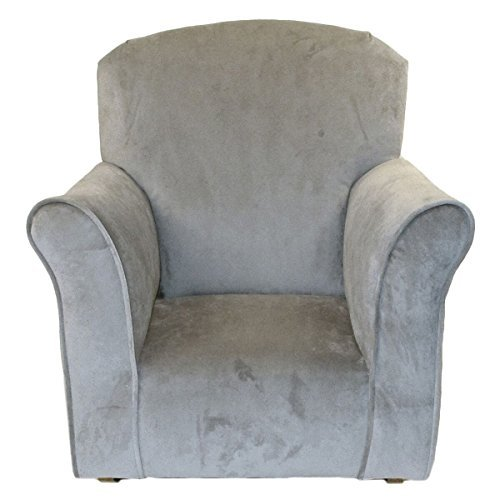 Brighton Home Furniture Toddler Rocker in Dove Microfiber