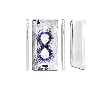 caselabdesigns Hard Back Case Cover vertical infinito para Wiko Ridge 4G–cuerpo en material duro protección