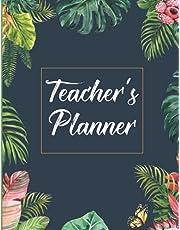 Teacher's Lesson Planner: Floral Teacher's Lesson Planner Flexible Lesson Planning for Any Year