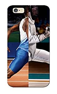 Stylishgojkqt New Arrival Iphone 6 Case Fighting Running Football Fencing Soccer Track Case Cover/ Perfect Design