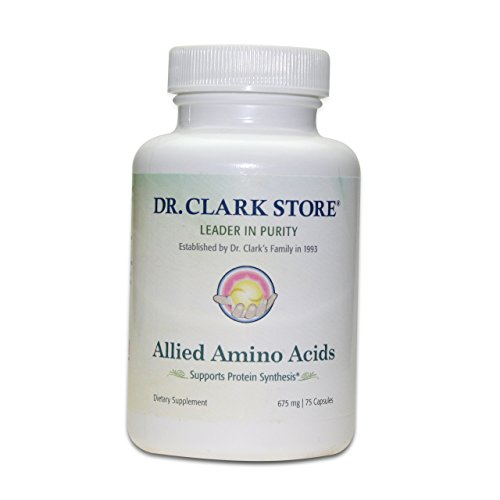 Dr. Clark AAA Allied Amino Acids 75 Capsules