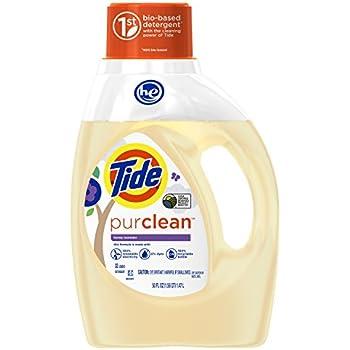 Tide PurClean Liquid Laundry Detergent for Regular/HE Washers - 50 oz - Honey Lavender