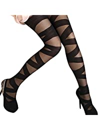 Imixshop Women Sexy Fishnet Tights Seamless Large Mesh Stockings Hollow Out Pantyhose