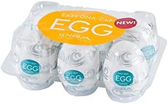 Tenga Egg Einweg-Masturbationsei Surfer, Hard Boiled, 6 Stück