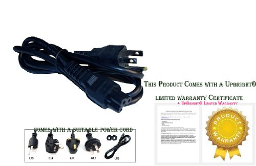 UpBright® NEW 3Pin AC Power Cord For DirecTV Direct TV Sate
