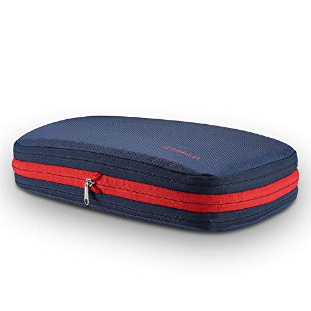 [해외] 압축 화이트 편리 여행 수납 가방 도라# 러브 트래블 파우치 편리 상품 지퍼 압축에 의류 스페이스50%절약 의류 구분 건습분리 방수 경량 출장 여행 간단 압축