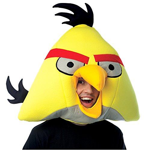 Angry Birds Yellow Mask Adult - Halloween -