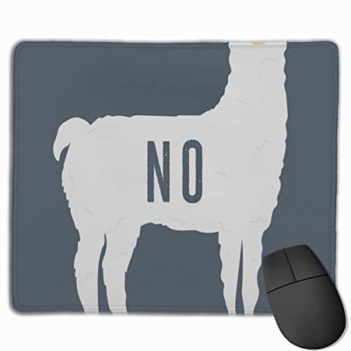 hed Edge No Llama Mouse Mat, Non-Slip Rubber Base Mousepad for Laptop, Computer ()
