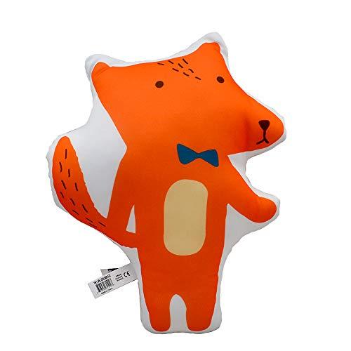 Super Soft Body Hug Pillow Bear Stuffed Animal Fox Plush Toy British Guards Doll for Kids Girl Boy Birthday Christmas Xmas Gift (Fox)