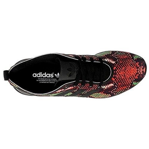 Mujer de Flux Adidas Zapatillas Smooth negro W para ZX Running xCAw7qP