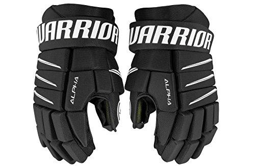 Warrior Junior Alpha Qx5 Gloves, Size 12, - Gloves Junior Hockey Black