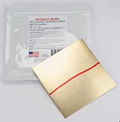 Yellow Brass 20 Gauge Sheet - 6