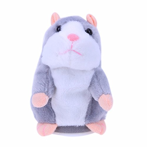 GreenSun TM Creative Talking Hamster Plush Toy Kids Speak Talking Sound Record Educational Toy Plush Animals Toy