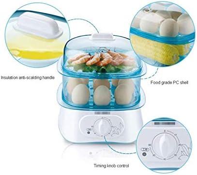 JJSFJH Eierkokers Egg steamer Egg Cooker Electric Eierkoker-220V 650W, Automatische Fornuis met Warming Functie-14 Ei Capacity-indicatie Light-for Perfect zachte en harde eieren