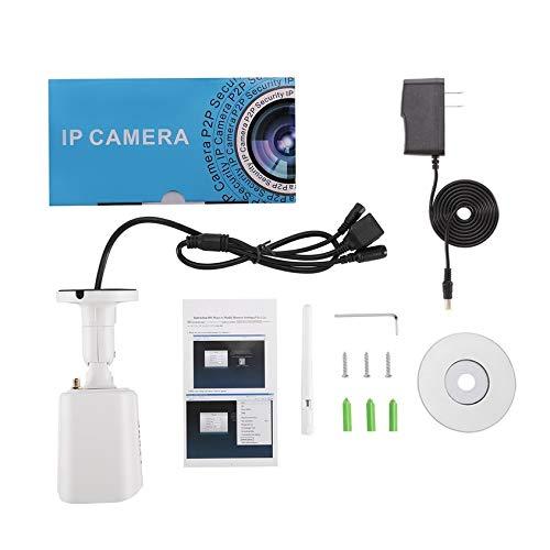 Florenceenid LESHP Durable H.264 1.0 MP1280X720 HD WiFi Security Mini IP IR Bullet Camera SN-IPC-4007FSW10 Network Surveillance Camera