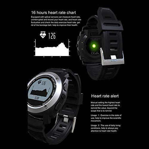 Amazon.com: SODIAL S928 Smart Watch Speed Outdoor GPS Sport ...