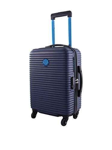 Lulu Castagnette Trolley rígido Cdn Azul Marino 48 cm