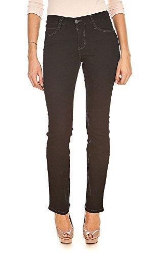 MAC Womens 0355L Dream_1 Straight Jeans Black