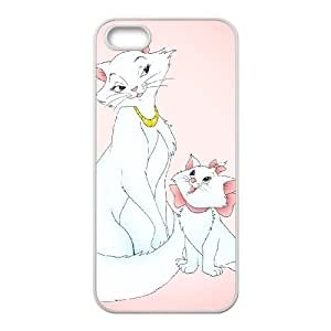 iPhone 5, 5S Phone Case Cartoon AristoCats Protective Cell Phone Cases Cover DFJ115552