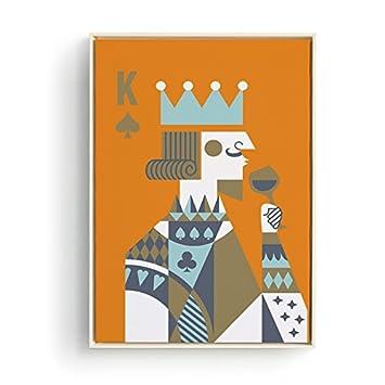 Patait König, Königin, Cartoon, Europäischen Stil Einfache Moderne  Wohnzimmer Dekoration Malerei, Esszimmer