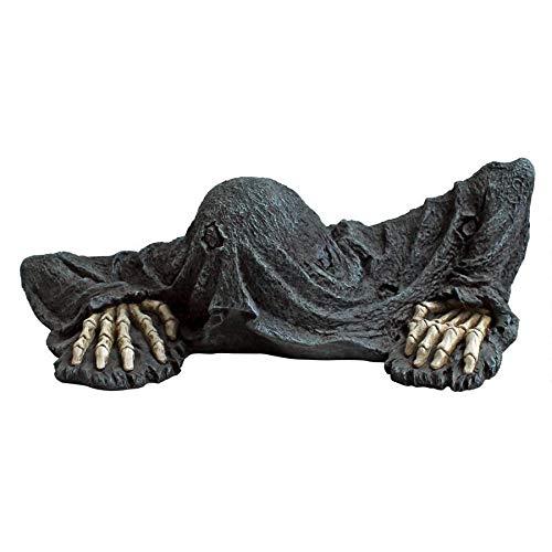 Design Toscano QM21463 The Creeper from The Grave Garden Statue Zombie Halloween Decoration, Multicolored