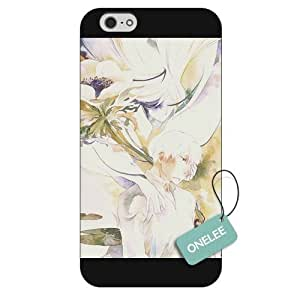 "iPhone 6 4.7 case,Japanese Anime Series Mushishi iPhone 4.7"" Case, Clear Hard Plastic Case for iPhone 6"