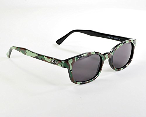 d554d46dd4 X KD Sunglasses Smoke Lenses Camouflage Color Frame Large Size UV400