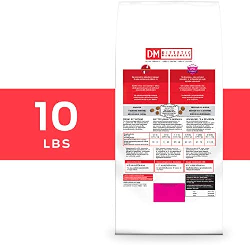 Veterinary Diets Purina Pro Plan DM DM Dietetic Management Dry Food – 1 10 lb. Bag