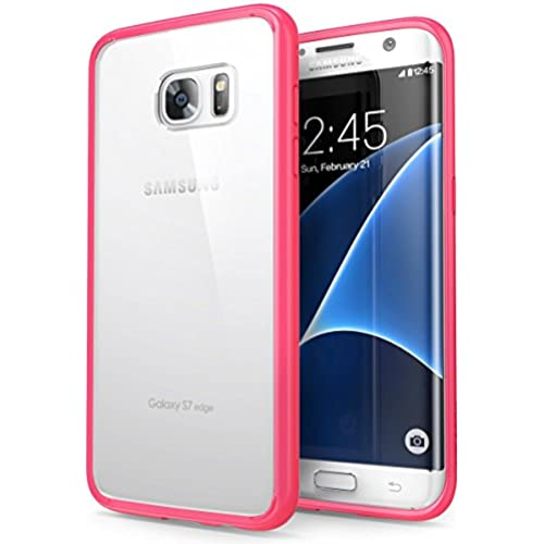 Galaxy S7 Edge Case, Ebakx[Acrylic Clear Cushion]Transparent Colorful Acrylic Clear Hard Case For Samsung Galaxy S7 Edge Hybrid Bumper and Ultra Slim Sales