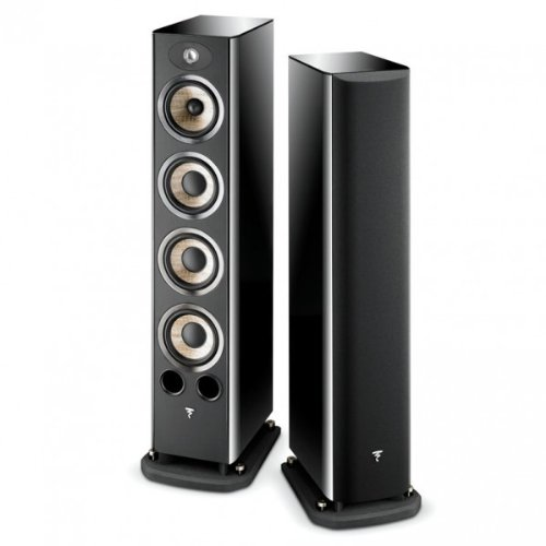 Focal Aria 936 3-Way Bass-Reflex Floorstanding Speaker – Each (Black Piano Lacquer)
