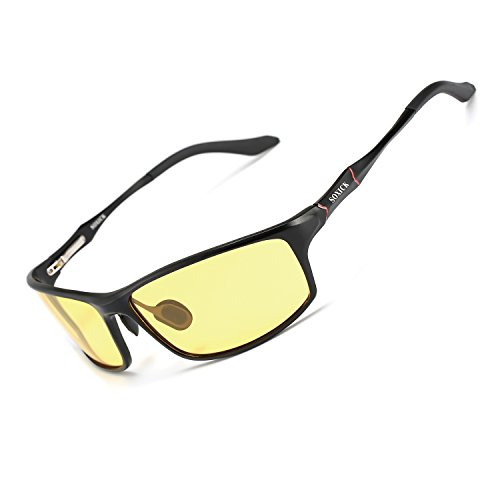 Night Vision Glasses for Driving Rain Day Driving Anti Glare Polarized Safe Night Driving glasses - Eyewear Try Home On
