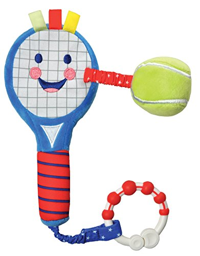 - Kids Preferred Little Sport Star On The Go Plush Developmental Tennis Racket, 13.75